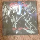 MOTLEY CRUE  autographed signed  GIRLS  Cd cover !