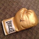 MUHAMMAD ALI  autographed SIGNED rare GOLD boxing GLOVE