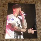 EMINEM slim shady AUTOGRAPHED signed 8x10 CONCERT photo