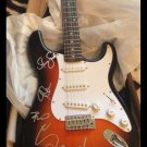 JOURNEY w/ Steve Perry   autographed SIGNED full size GUITAR