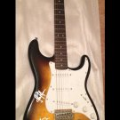 LED ZEPPELIN  autographed SIGNED full size GUITAR
