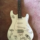 AC/DC  all 5   AUTOGRAPHED signed GUITAR  *proof