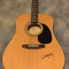 WILLIE NELSON  signed  AUTOGRAPHED full size GUITAR