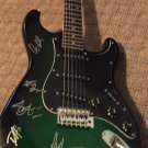 GUNS N ROSES autographed SIGNED a full size GUITAR  *w/proof