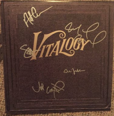 PEARL JAM signed AUTOGRAPHED #1 record vinyl