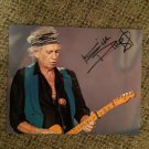 KEITH RICHARDS Rolling Stones AUTOGRAPHED signed 8x10 photo