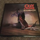 OZZY OSBOURNE signed AUTOGRAPHED #1 record