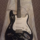 VAN HALEN  ( all 5 ) signed AUTOGRAPHED full size GUITAR