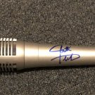JUSTIN TIMBERLAKE signed AUTOGRAPHED full size MICROPHONE