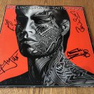 ROLLING STONES group signed TATTOO record vinyl