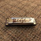 BOB DYLAN signed AUTOGRAPHED full size HARMONICA
