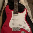 COLDPLAY signed AUTOGRAPHED full size GUITAR