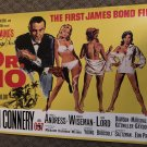 """SEAN CONNERY autographed SIGNED full size MOVIE poster """" DR.NO """""""
