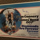 """SEAN CONNERY signed AUTOGRAPHED full size POSTER  """" Diamonds are forever """""""