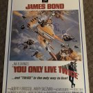 """Sean Connery signed AUTOGRAPHED """"you only live twice"""" JAMES BOND movie POSTER"""