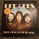 BEE GEES autographed SIGNED #1 RECORD vinyl