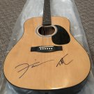 TIM McGRAW & FAITH HILL autographed SIGNED full size GUITAR