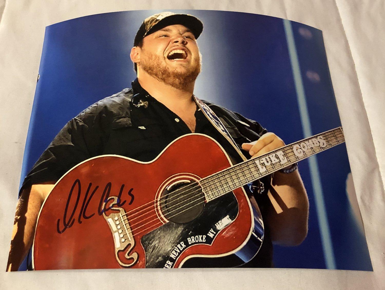 LUKE COMBS autographed SIGNED 8x10 photo