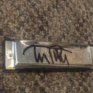 TOM PETTY autographed SIGNED full size HARMONICA