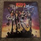 """KISS autographed SIGNED full size """"DESTROYER""""  vinyl  RECORD"""