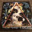DEF LEPPARD signed AUTOGRAPHED #1 RECORD vinyl