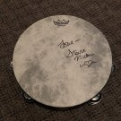 STEVIE NICKS Fleetwood Mac AUTOGRAPHED signed FULL size TAMBOURINE
