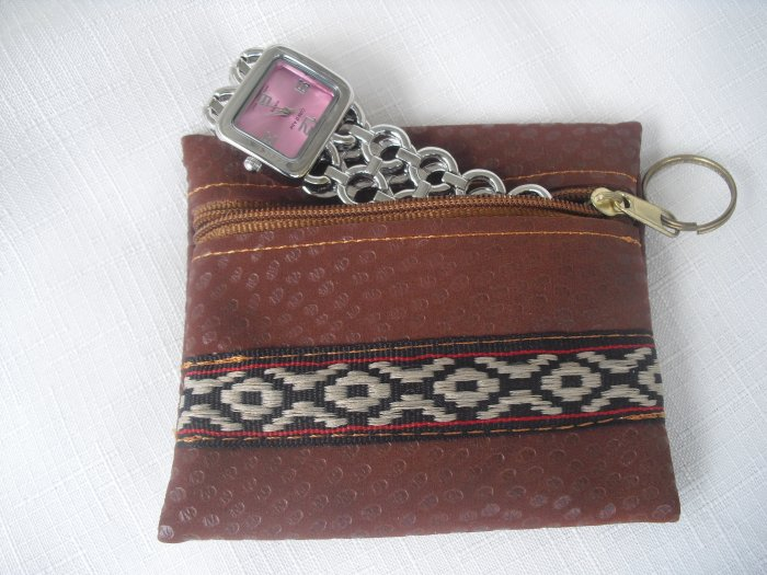 Mini Wallet pouch to carry jewelry when traveling