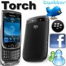 New BlackBerry Torch 9800 Black Unlocked ATT Tmobile Vodafofone Fido O2 Movistar