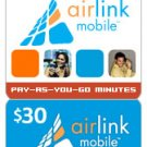 Airlink Mobile Refill $30