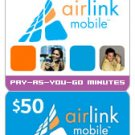 Airlink Mobile Refill $50
