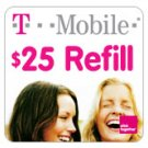 T-Mobile To Go Refill Minutes $25