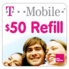 T-Mobile To Go Refill Minutes $50
