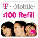 T-Mobile To Go Refill Minutes $100