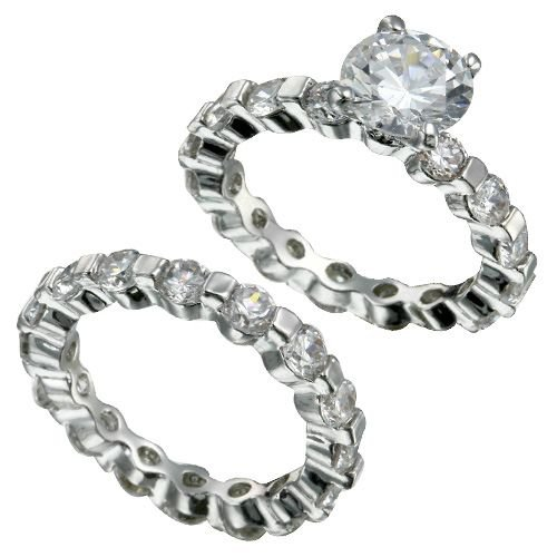 Brilliant Bridal Ring Set