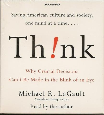 Think Audio Book by Michael R. LeGault 5 CD's