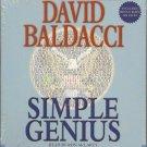 Simple Genius Audio Book Novel by David Baldacci