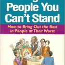 Dealing With People You Can't Stand book by Rick Brinkman and Rick Kirschner