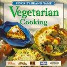 Favorite Brand Name Vegetarian Cooking Cookbook