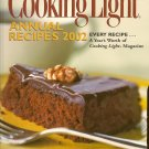 Cooking Light Annual Recipes 2002 Cookbook
