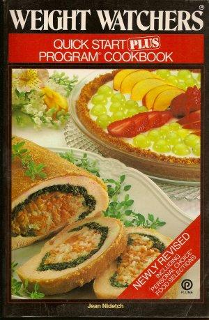 Weight Watchers Quick Start Plus Program Cookbook  Jean Nidetch