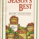 The Pampered Chef Season's Best Recipe Collection Fall/Winter 1997