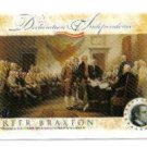 2006 Topps Declaration of Independence Carter Braxton
