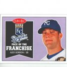 2009 O-Pee-Chee Face of the Franchise #FF26 Alex Gordon