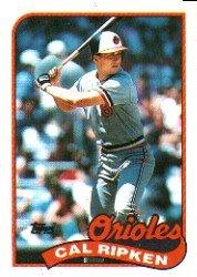 1989 Topps #250 Cal Ripken