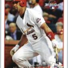 2009 Topps Update #UH48a Albert Pujols
