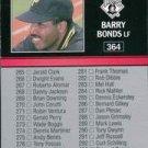 1991 Leaf #364 Barry Bonds