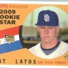 2009 Topps Heritage #502 Mat Latos