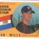 2009 Topps Heritage #523 Brad Mills