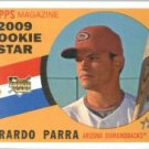 2009 Topps Heritage #578 Gerardo Parra