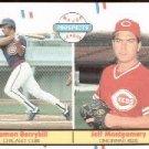 1988 Fleer #642 D.Berryhill/J.Montgomery